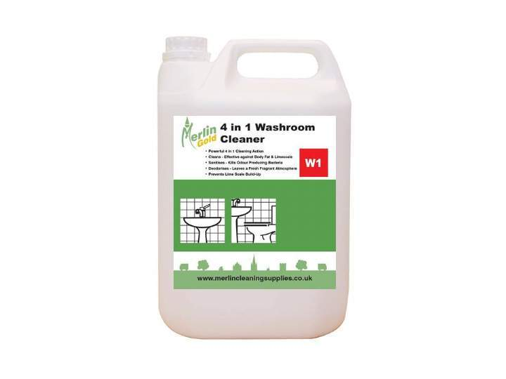 MERLIN W1 4 in 1 WASHROOM CLEANER - 6x750ml