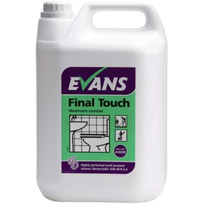 FINAL TOUCH NEUTRAL WASHROOM CLEANER - 5ltr