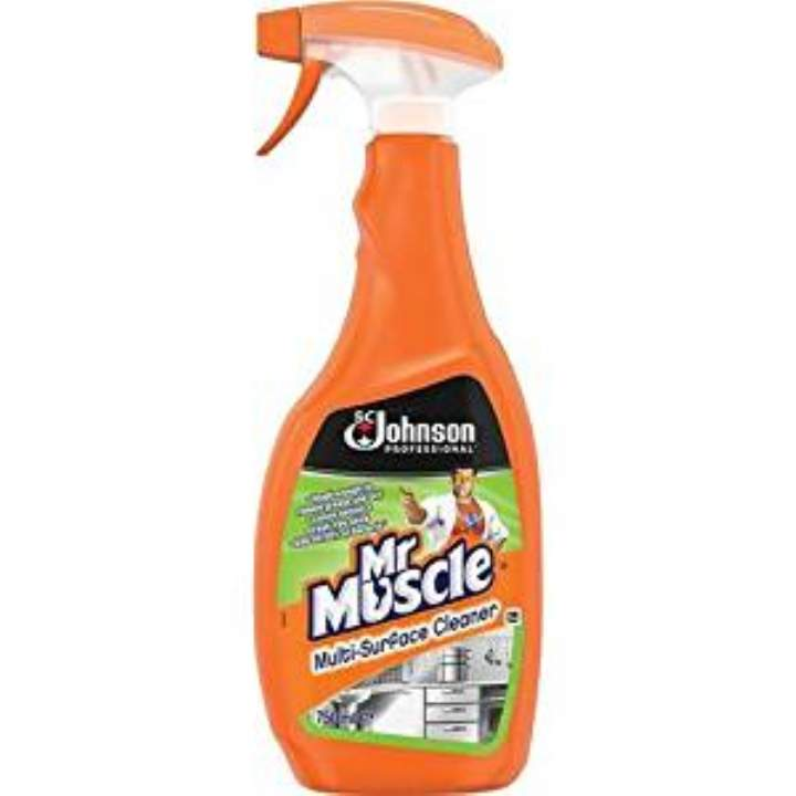 MR MUSCLE MULTI SURFACE CLEANER - 6x750ml