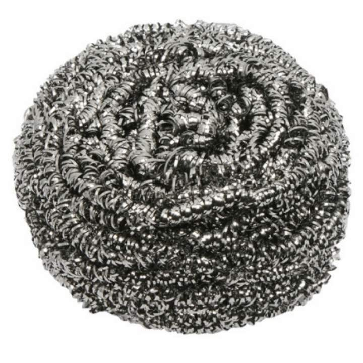 HEAVY DUTY STAINLESS STEEL SCOURERS - Pack 18