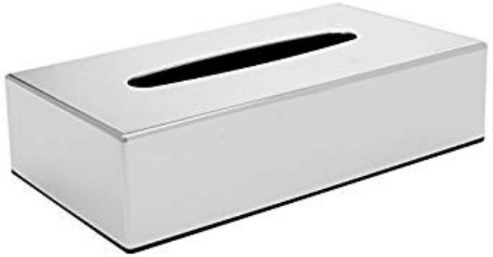 CHROME FACIAL TISSUE HOLDER - Each