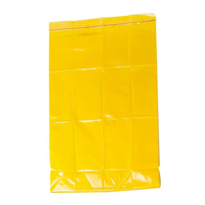 15x28x39 HD YELLOW CLINICAL WASTE SACKS EOL - Ctn 200