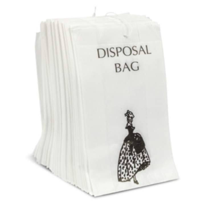 PAPER SANITARY TOWEL DISPOSABLE BAGS - 10x100