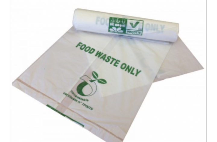18x18 COMPOSTABLE CADDY BAGS 10ltr - Ctn 520