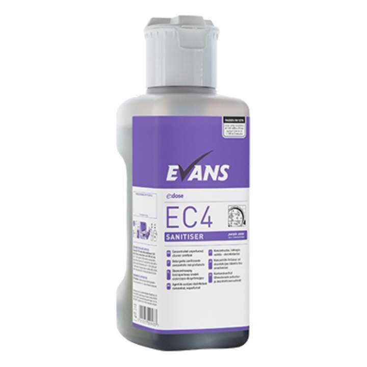 EVANS CONCENTRATE E ZONE SANITISER - 4x1ltr