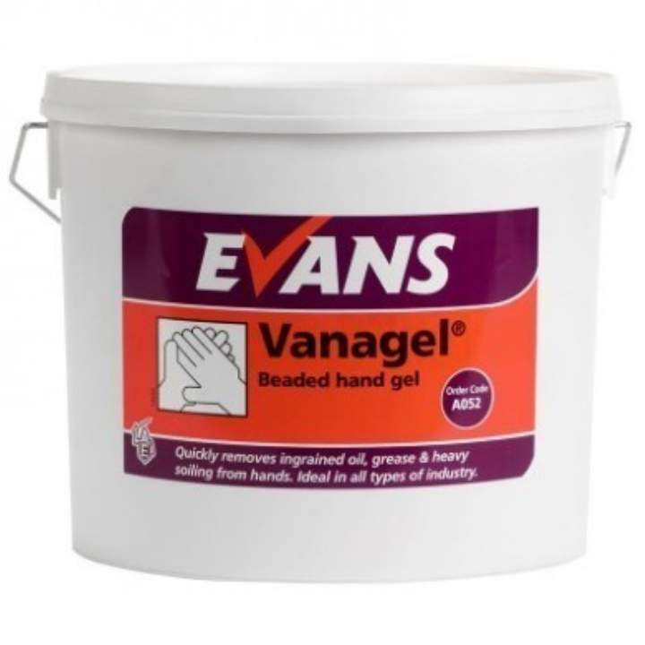 BEADED VANAGEL HAND GEL - 5ltr
