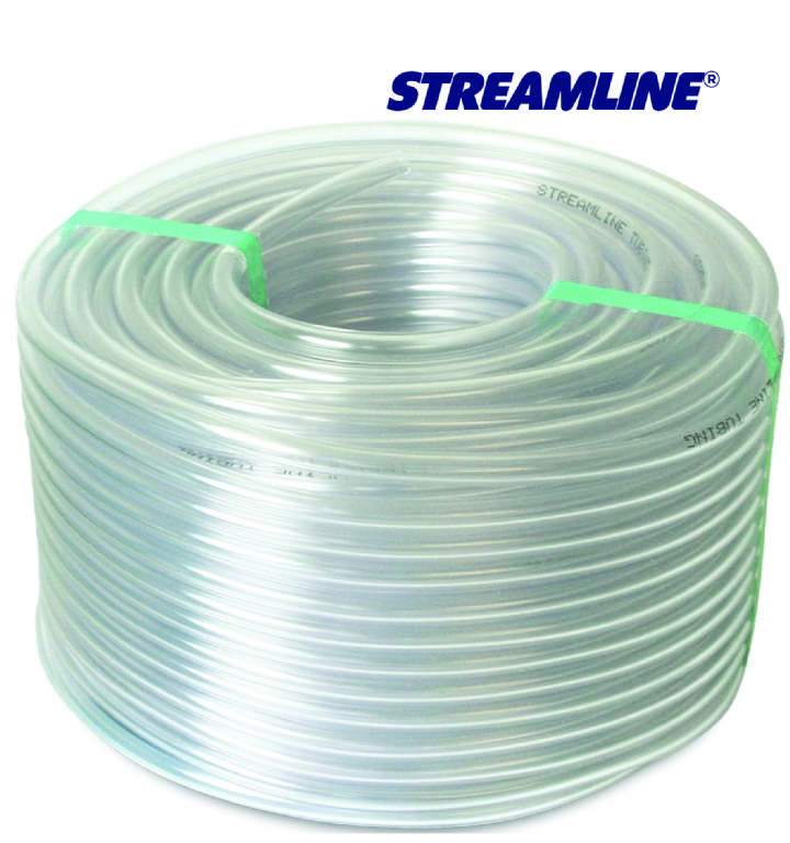 ECO5 5mm CLEAR HOSE TUBING - 15mtr