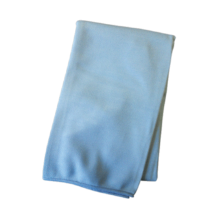PRO GLASS CLEAN 40x40 MICROFIBRE CLOTH - Each
