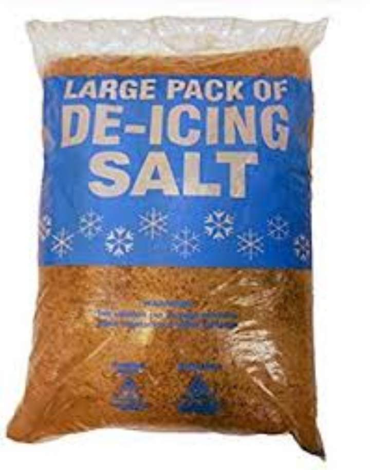 BROWN ROCK SALT - 25kg