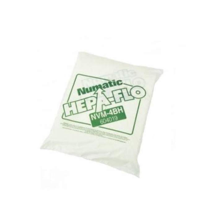 NVM4B HEPAFLOW HI FILTER NUMATIC DUSTBAGS - Pack 10