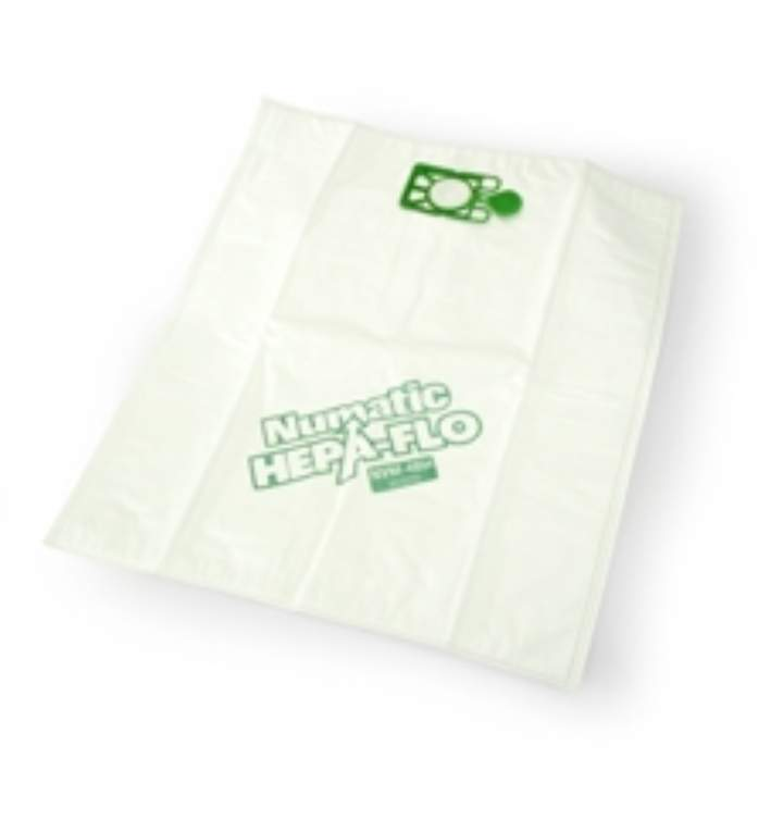 NVM5B HEPAFLOW HI FILTER NUMATIC DUSTBAGS - Pack 10