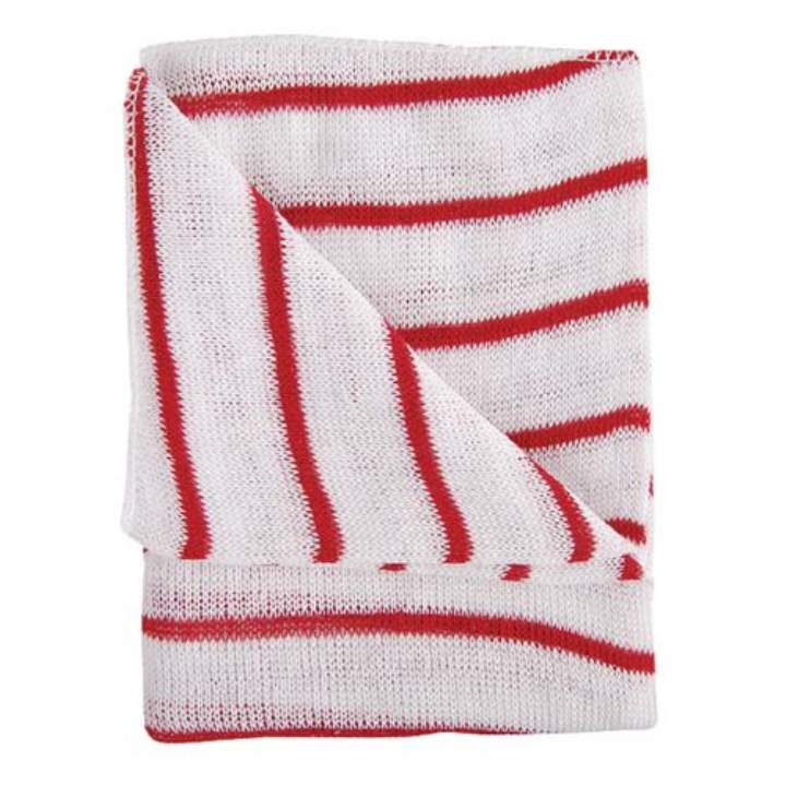 PREMIUM COLOUR STRIPED DISHCLOTHS - Pack 10