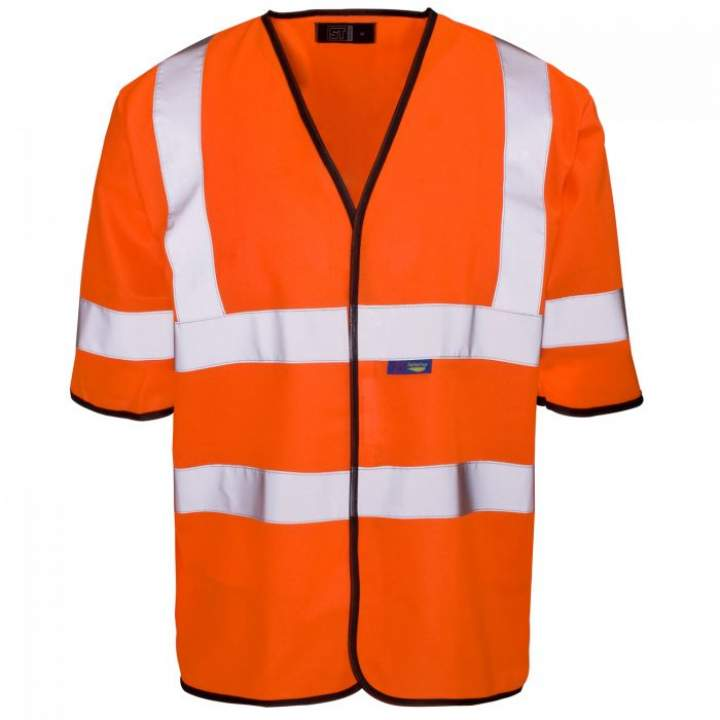HI-VIS ORANGE VEST LARGE - Each