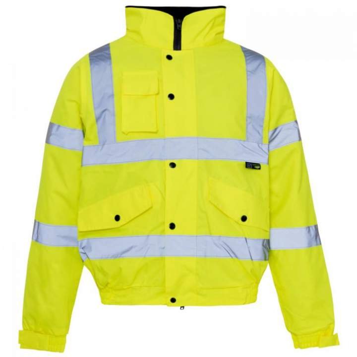 HI-VIS QUILTED BOMBER JACKET SMALL - Each