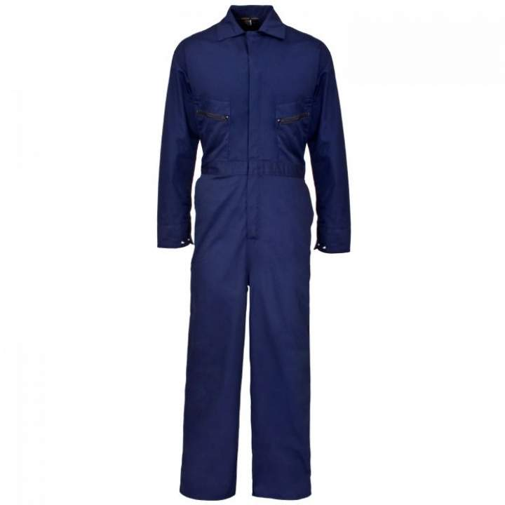 NAVY BLUE OVERALLS - BOILER SUIT LARGE - Each