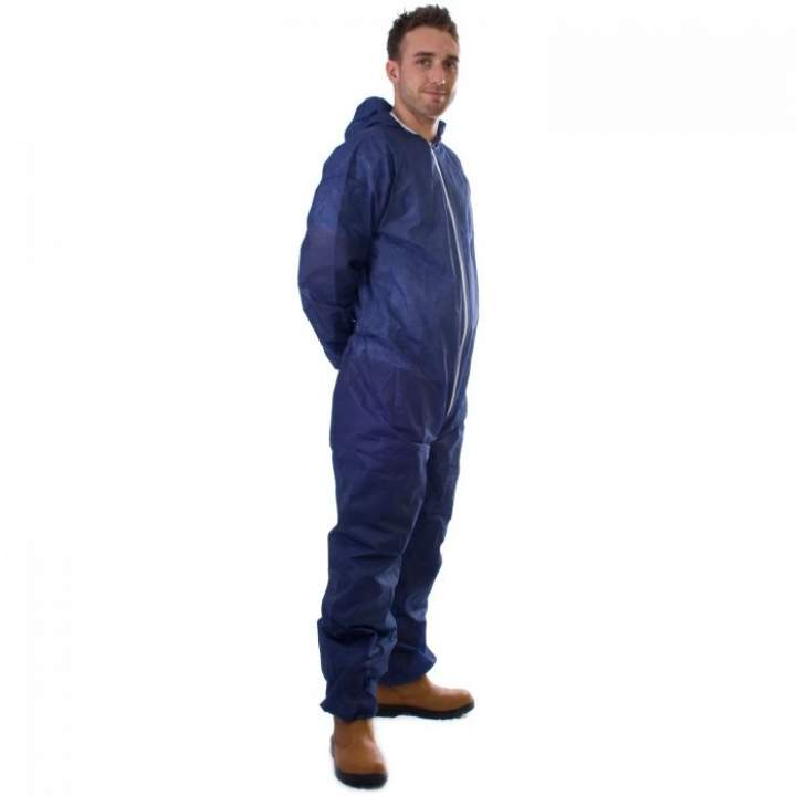 COVERALL DISPOSABLE OVERALL LARGE - Each