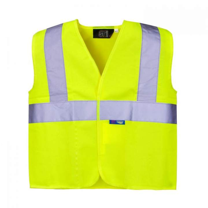 HI-VIS KIDS VEST YELLOW 10-12yrs - Each