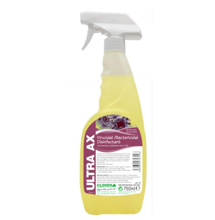 ULTRA AX VIRACIDAL SURFACE CLEANER 6x750ml