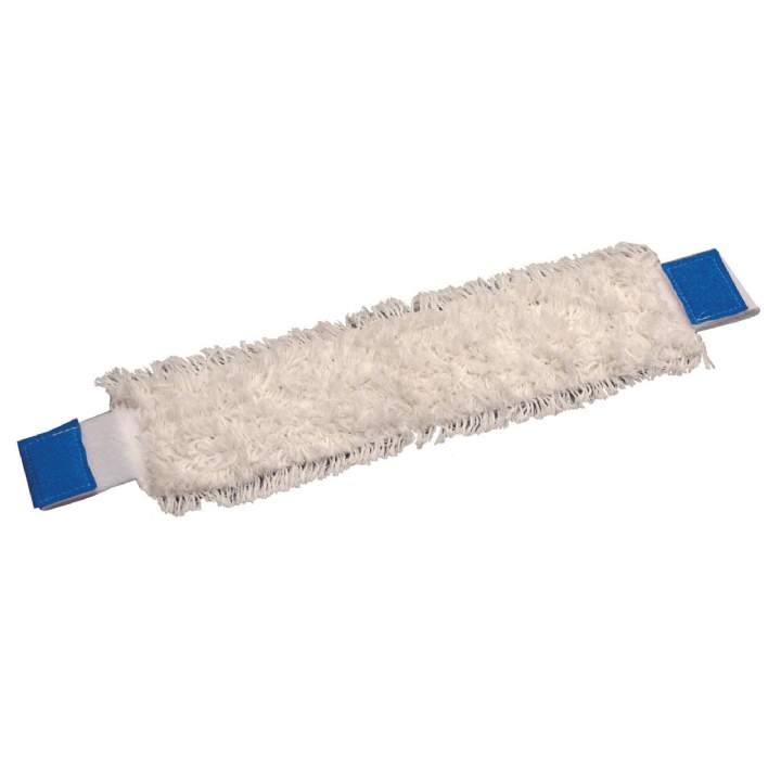 40cm ULTIMATE MICROFIBRE FLAT MOPHEAD BLUE - Each