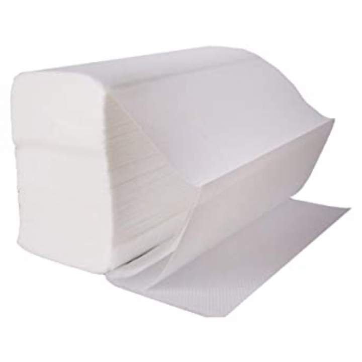 2PLY Z-FOLD STD WHITE HAND TOWELS - Ctn 3000