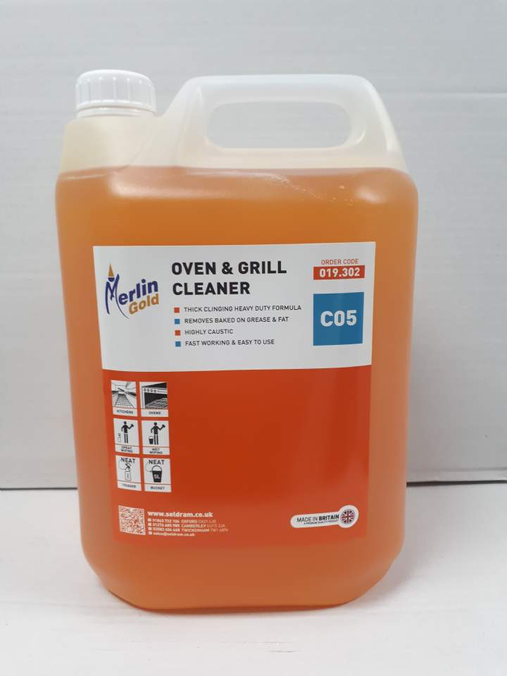 MERLIN C05 OVEN &GRILL CLEANER - 5ltr