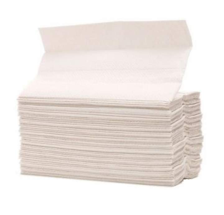 2PLY C-FOLD WHITE STD HAND TOWELS - Ctn 2355